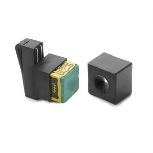 Magnetic Cue Chalk Holder With Green Triangle Chalk