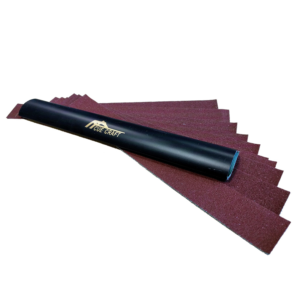 Cue Tip Shaper - Black - Large