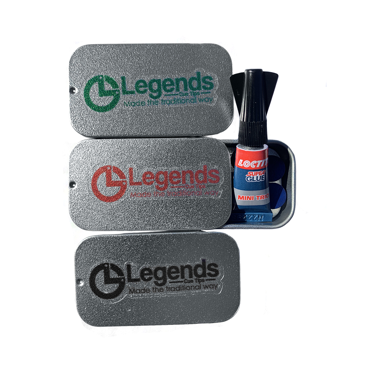 Legends 5 pack in tin