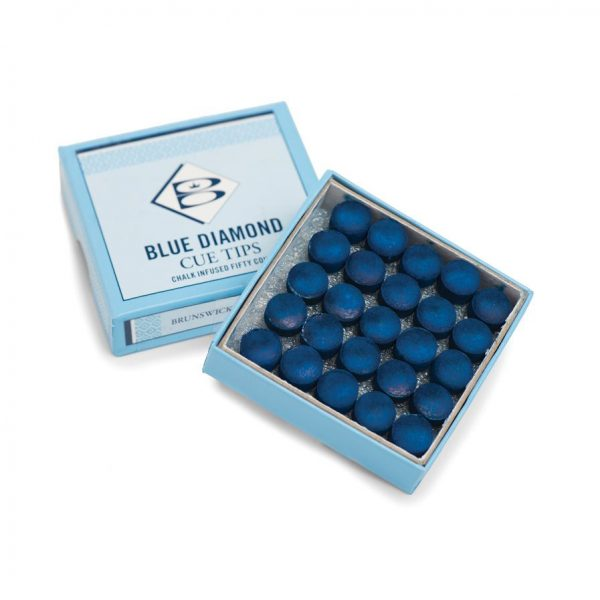 Blue Diamond 5 Pack - Snooker or Pool Cue Tips