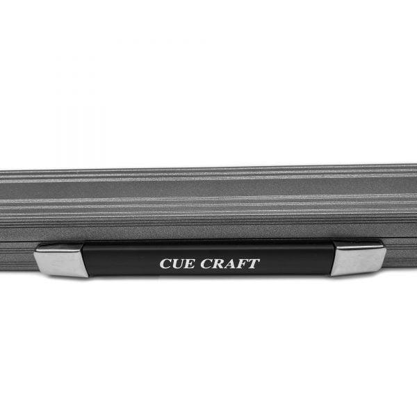 Cue Craft Gloss Silver Bespoke 1 Piece Aluminium Snooker Cue Case