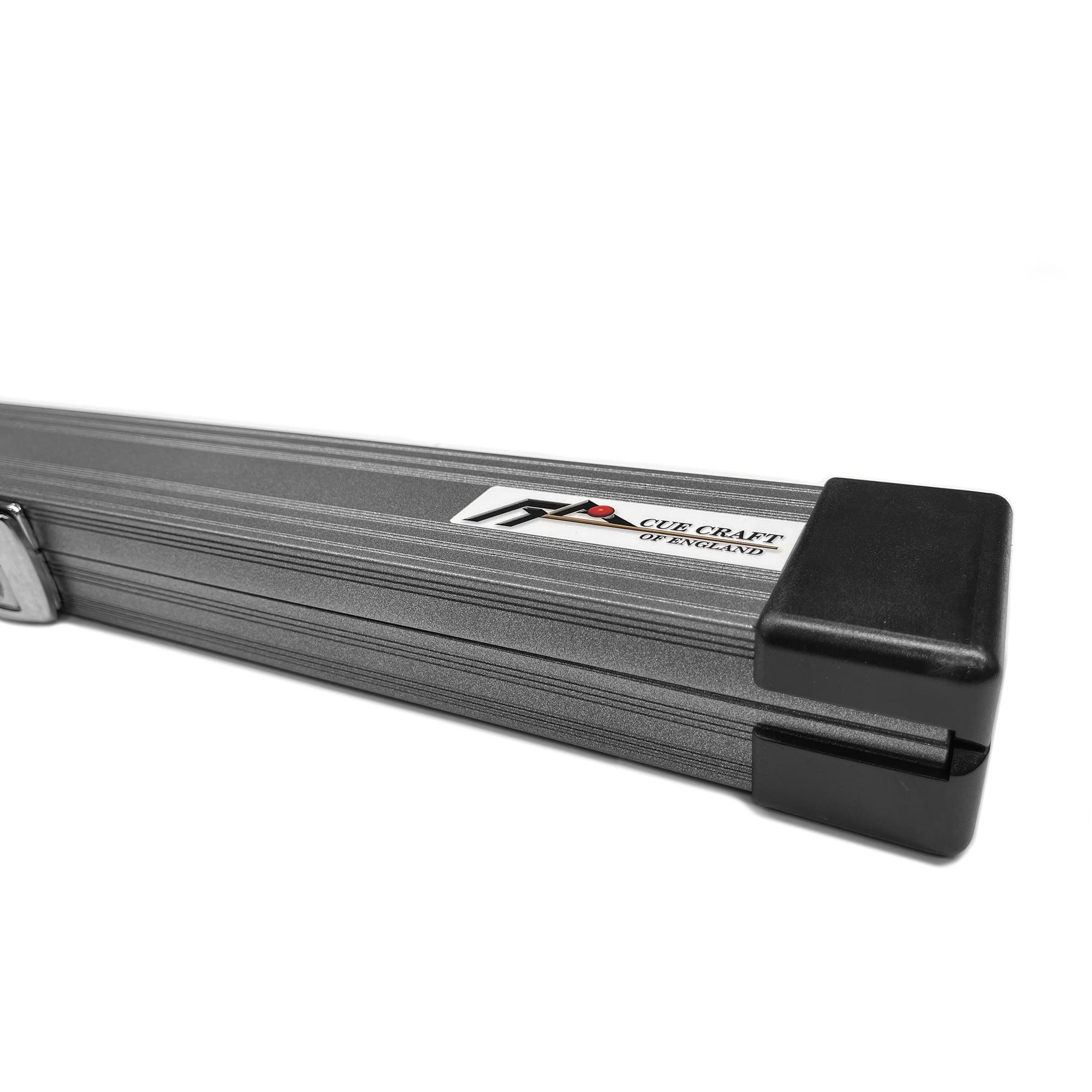 Cue Craft Gloss Silver 1 Piece Aluminium Snooker Cue Case