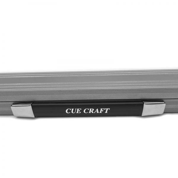 Cue Craft Powder Silver Bespoke 1 Piece Aluminium Snooker Cue Case