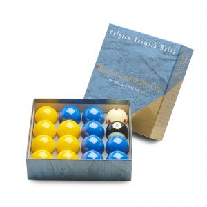 Super Aramith ProCup 2 inch Pool Balls Blues and Yellows